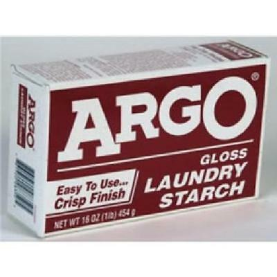 Argo Gloss Laundry Starch One 16 Oz Package