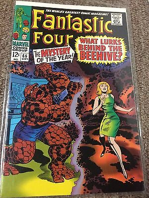 Fantastic Four #66 - JC Penny, Stridex Reprint, Hard to Find