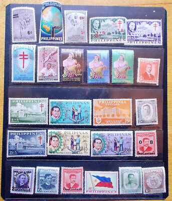 30 Philippines Stamps