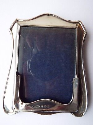 Solid Silver Photo Frame 1906