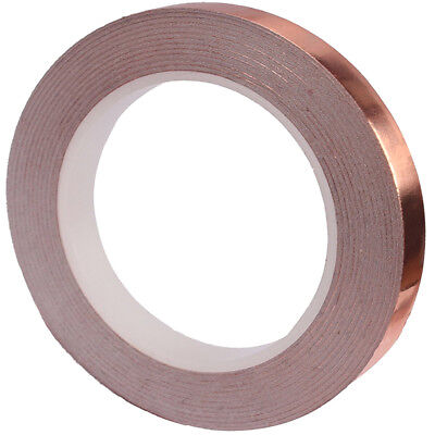 COPPER FOIL SHIELDING TAPE LOW IMPEDANCE CONDUCTIVE ADHESIVE 6MM x 20M