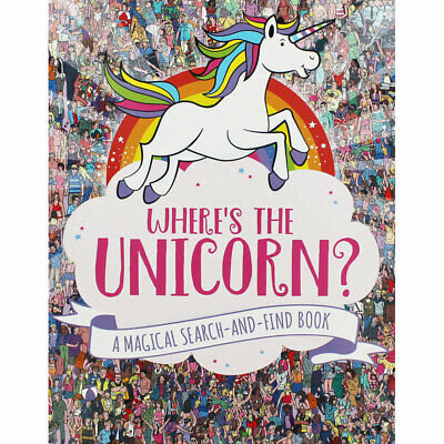 Wheres the Unicorn - A Magical Search and Find Book, Children's Books, Brand New