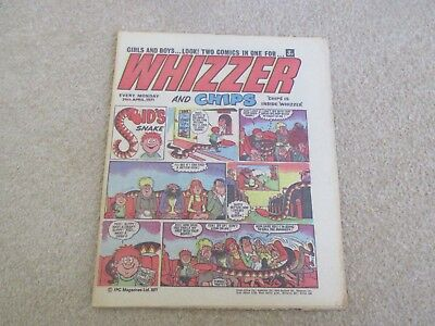 Whizzer And Chips Comic, April 24th 1971- Good Condition