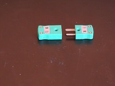 IEC 584 green plug & socket for K Type Thermocouples