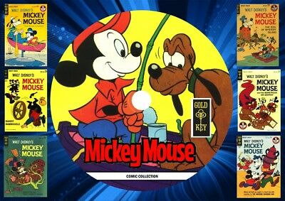 Mickey Mouse Gold Key Comics On DVD Rom
