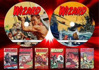 Wizard Series 2 UK Comic Complete On Two DVD Rom's