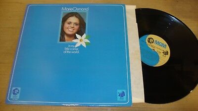 Marie Osmond - In My Little Corner Of The World - LP Record  G+ EX