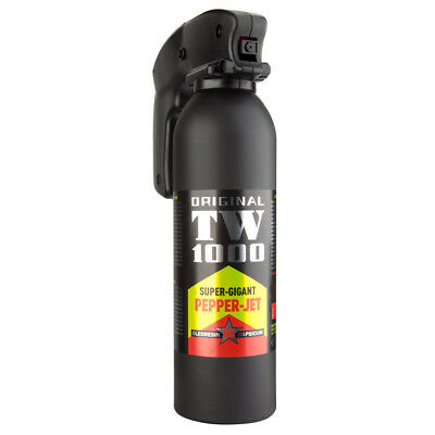 TW1000 Pfefferspray Super Giant Professional 400 ml Pepper JET Strahl Tierabwehr