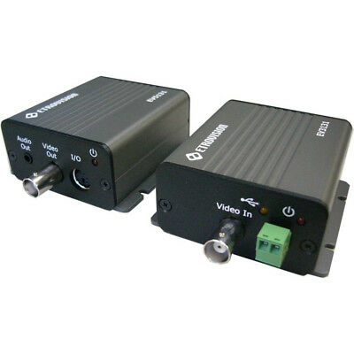 Encoder & Decoder KIT Transmit Convert Analog Video/Audio to IP, Use with DVR