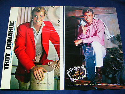 1960s Troy Donahue Japan VINTAGE 52 Clippings MY BLOOD RUNS COLD VERY RARE