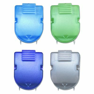 Panel Wall Clip Standard Size 40-Sheet Capacity Assorted Metallic Colors