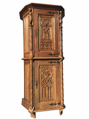 Antique French Gothic Cabinet and Other French Gothic at TheGatz