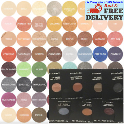 MAC Eye Shadow - Pro Palette Refill Pan Choose Your Shade Brand New