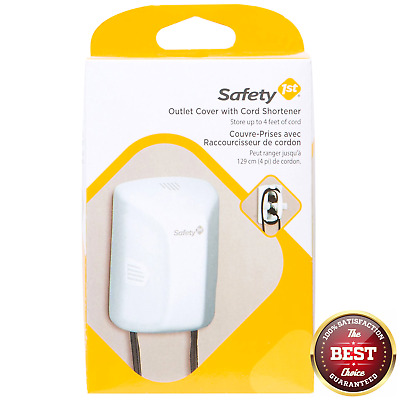 Safety 1st Outlet Cover with Cord Shortener 2 Pack (Damaged Packaging)
