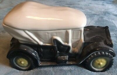 Brush McCoy Pottery Touring Car Cookie Jar RARE Antique MINT CONDITION Free Ship