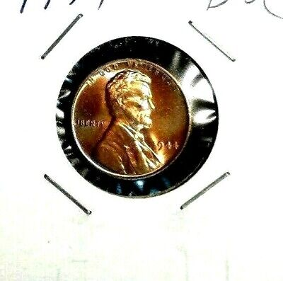 Red  Nice   US  Coin    Free Shipping 1954-D Lincoln Wheat Cent GEM  BU