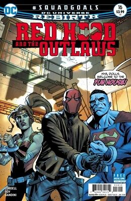 Red Hood And The Outlaws #16 (2016) Rebirth Vf/nm Dc
