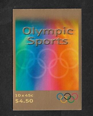 AUSTRALIA mint 2000 Olympic Sports self-adhesive stamp booklet MNH MUH