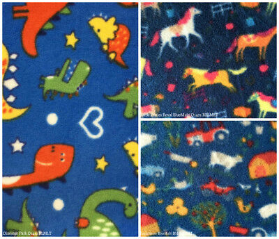 Polar Fleece Anti Pill Fabric Premium Quality Soft Material Farmhouse Print