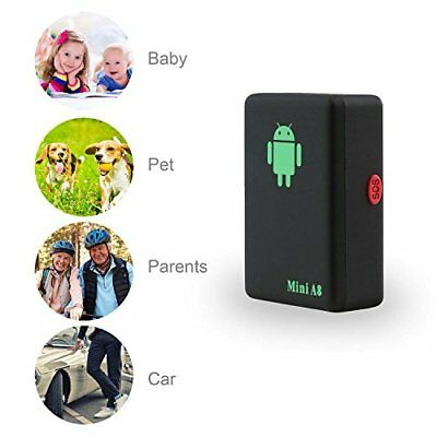 Mini Portable Real Time Personal and Vehicle GPS Tracker for Elderly Kids Pets