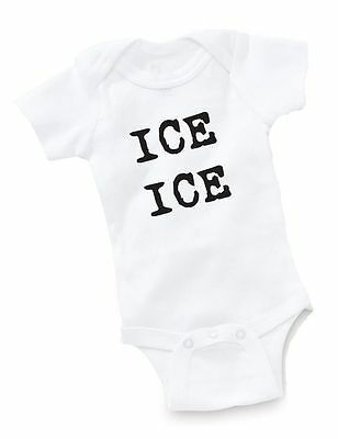 f2e3a3528 Ice Ice Baby Onesie Baby Clothing Shower Gift Geek Funny Cute Vanilla Bean