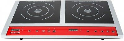Countertop Induction Double Range Free Standing Electric Cooker Dual Burner 120V