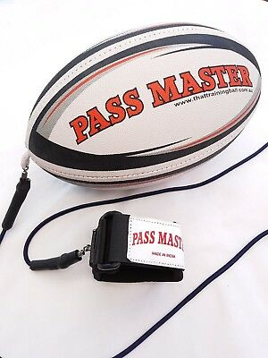 Rugby Practice Ball - Junior Size - Rugby Training Equipment - Age 8 to 14