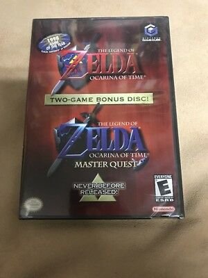 BRAND NEW The Legend Of Zelda Ocarina Of Time & Master Quest GameCube RARE !!!!