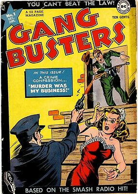 Us Comics Gangbusters #1-67 Golden Age Crime Comics Collection On Dvd