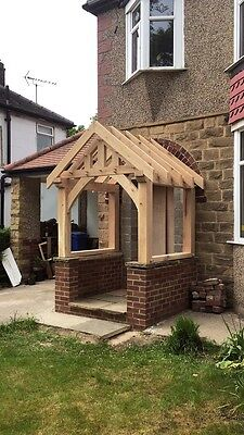 Wooden Oak Porch Wooden Peg Traditional Manufactured And Fitted Bespoke Fitting