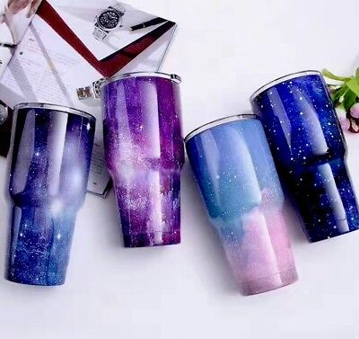 0.9L 30oz Stainless Steel Space Vacuum Insulated Cup Rambler Tumbler Travel Mug