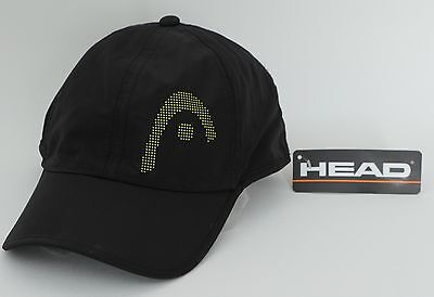 HEAD Light Function Cap in schwarz - Cappy, atmungsaktive Schildkappe