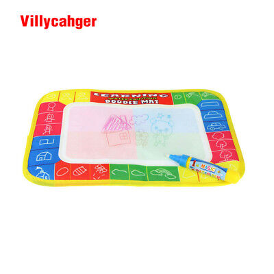 4 color Mini Water Drawing Rug And 1 Magic Pen for kids
