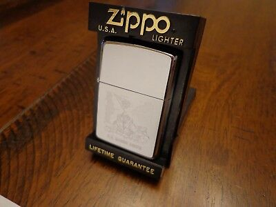 Usmc Us Marine Corps Iwo Jima Zippo Lighter Mint In Box 1994