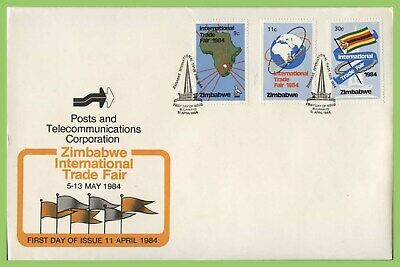 Zimbabwe 1984 International Trade Fair set on First Day Cover
