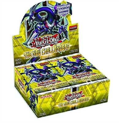 YU-GI-OH The New Challengers Booster Display 24 Booster 1. Auflage deutsch