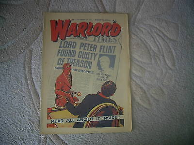 WARLORD comic No 12, from 1974