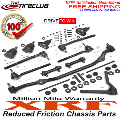 XRF Lifetime Ball Joint Tie Rod Center Link Kit Malibu Regal Monte Carlo 78 - 88