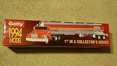 1994 Getty Toy Tanker Truck First In A Collectors Series