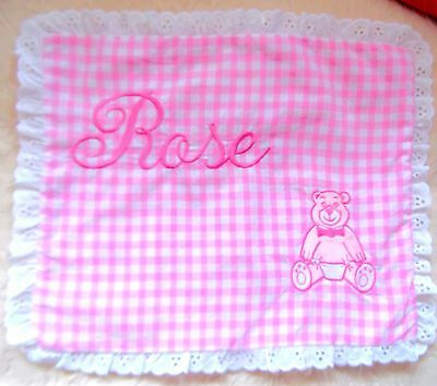 Vintage Baby cushion cover 1990's