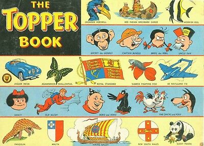 Uk Comics Topper And Sparky Books Collection Of Annuals On Dvd
