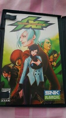 PS2 The king of fighters XI no game