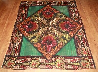 """Antique Chase Carriage Blanket, 49"""" X 60"""""""