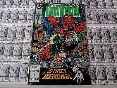 Green Lantern (1990) DC - #2, Down to Earth, Hal Jordan, Jones/Broderick, VF