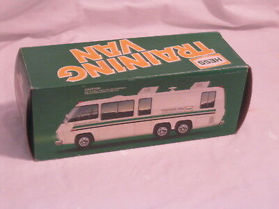 1980 Hess Training Van Original Box With Inserts And Battery Card