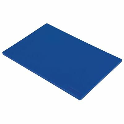 Commercial Blue Chopping Board Colour Coded Raw Fish 450x300x12mm