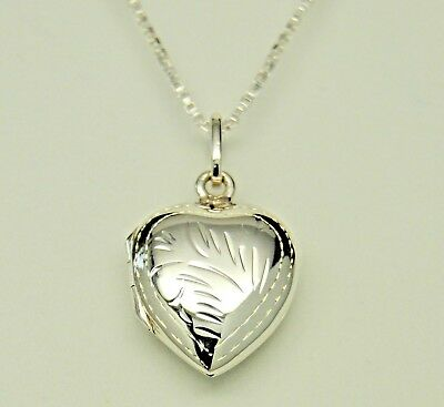 Sterling Silver Cremation Jewelry Heart Cremation Urn Necklace Memorial Keepsake