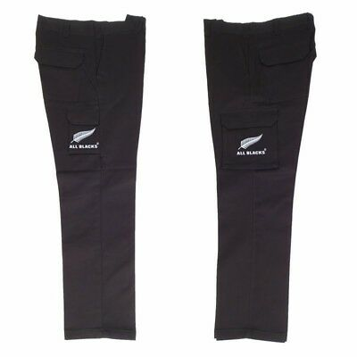 New Zealand All Blacks H/Vis Black Cargo Pants size MED 87