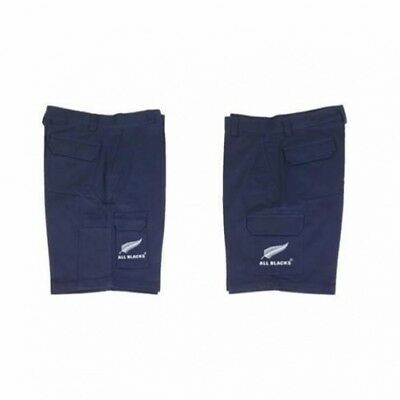 New Zealand All Blacks Workwear Navy Cargo Shorts size 7XL 127