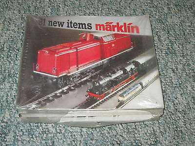 1 Case Of 50 New 1981 Marklin Catalogs Ho Z And 1 Gauge